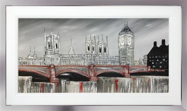 Edward Waite - 'Silver Dreams At Parliament' - Original Art