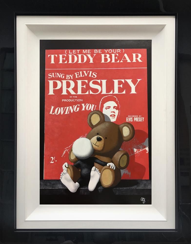 Mark Grieves - 'Let Me Be Your Teddy Bear' - Framed Original Art