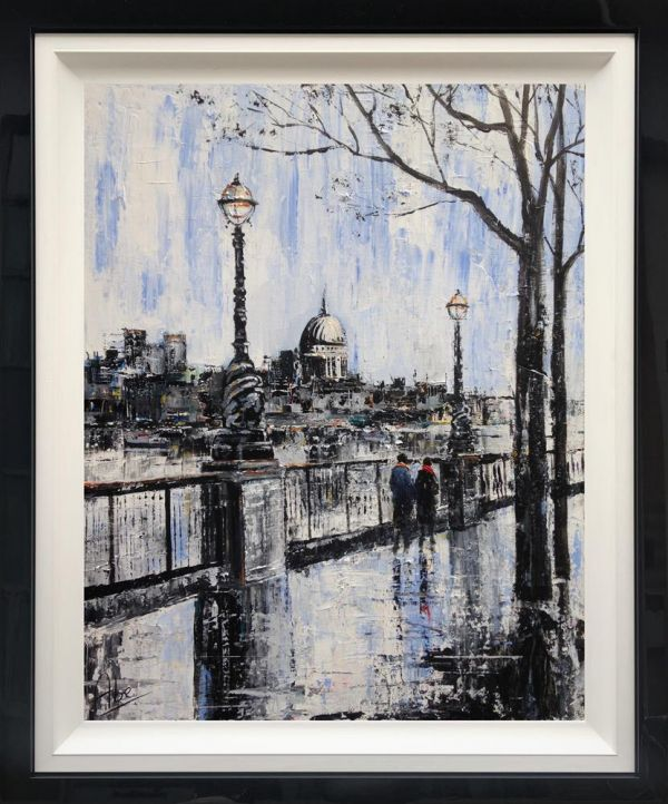 Abe - 'Southbank Stroll' - Original Art