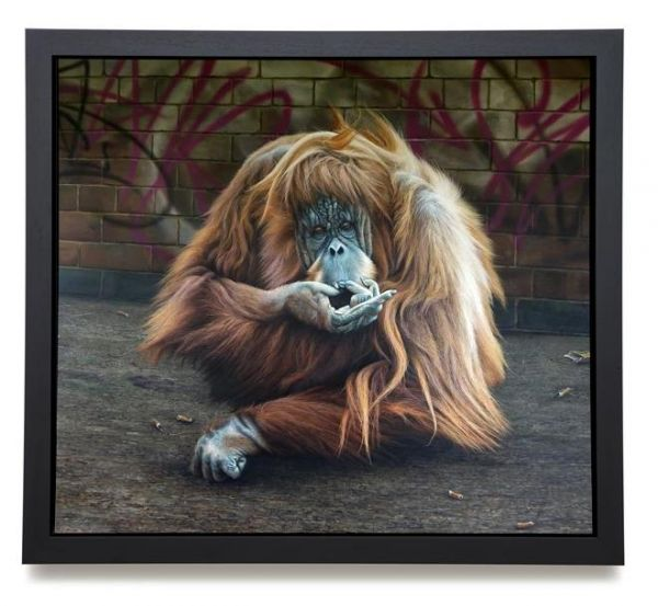 Paul James - 'Drag Queen' - Canvas - Limited Edition Artwork