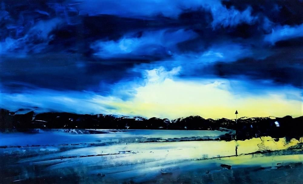 Richard King - 'Howlin' For You' - Borth Beach, Mid Wales - Original Art