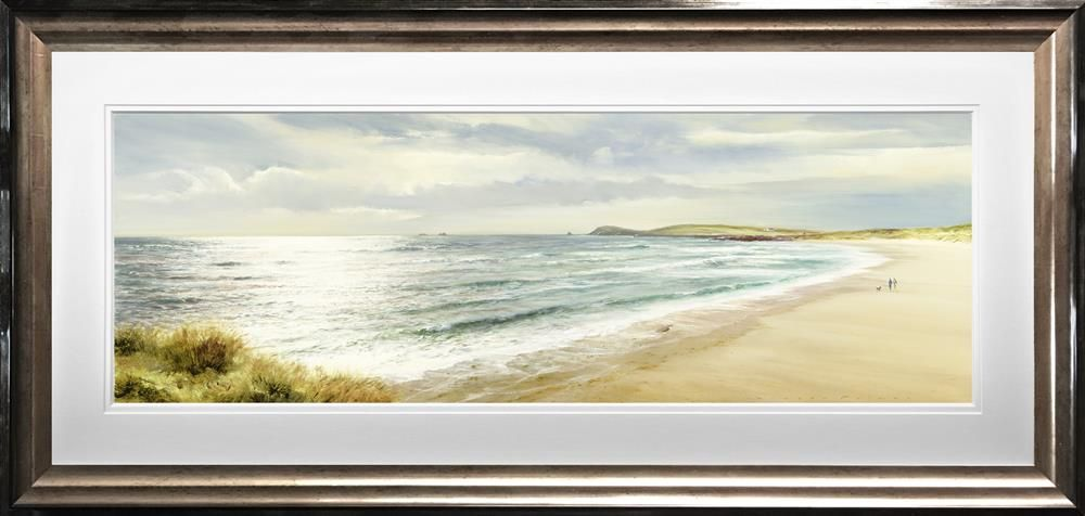 Duncan Palmar ARSMA - 'A Walk Along the Bay' - Limited Edition Art