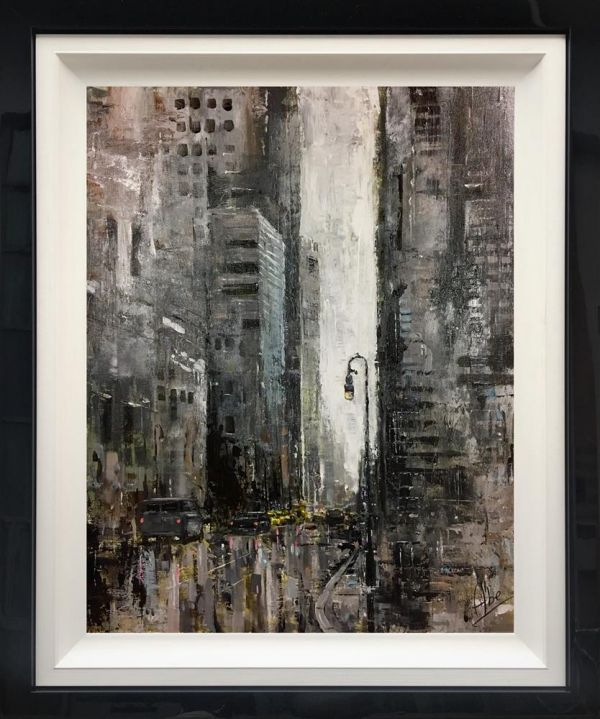 Abe  -  'City Light'  - Original Art