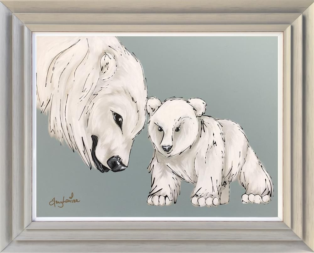 Amy Louise - 'Daddy Bear and Baby Bear' - Original Art