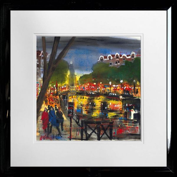 Carol Mountford - 'Amsterdam Lights' - Limited edition