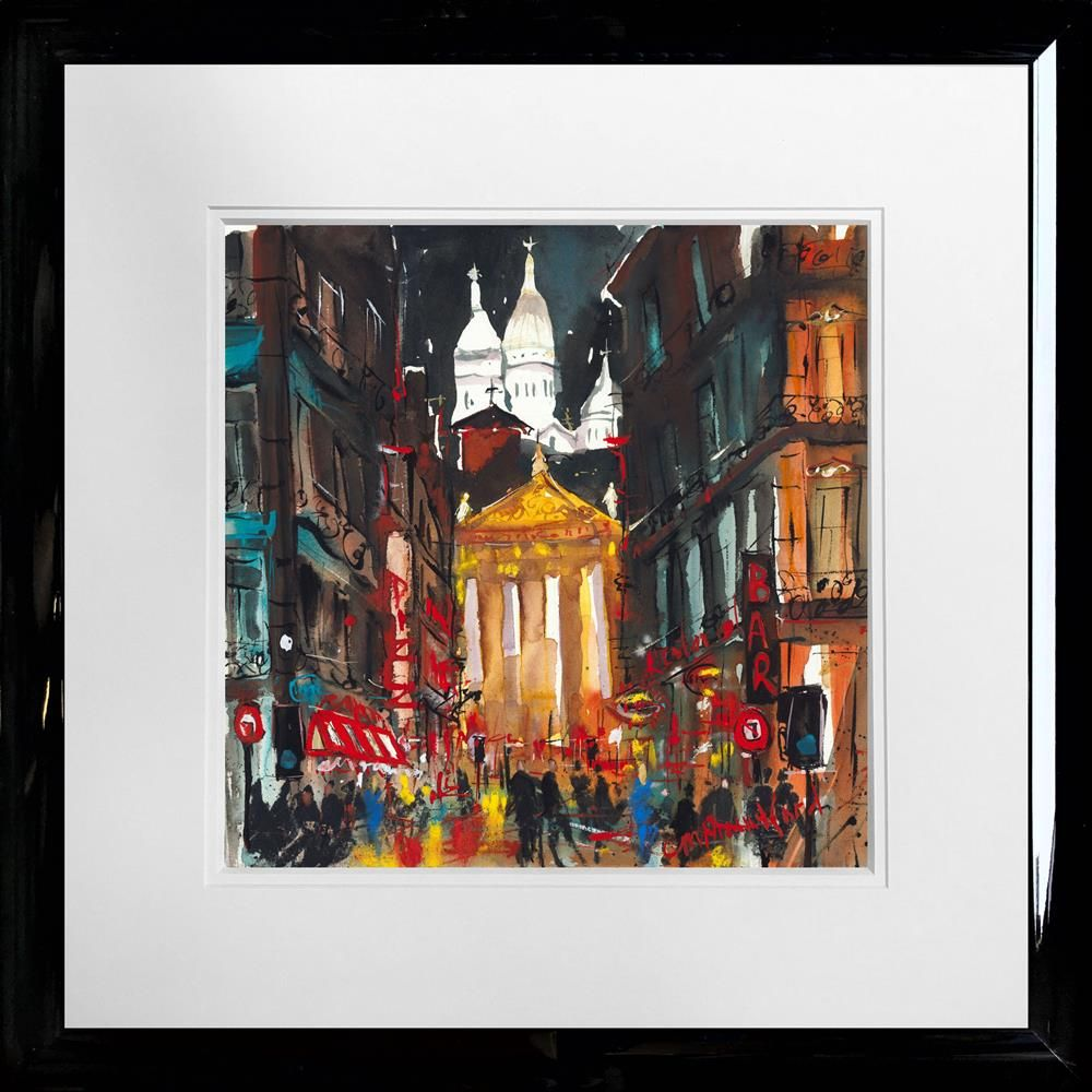 Carol Mountford - 'Sacre Coeur Paris' - Limited Edition Art