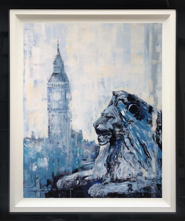 Abe - 'Lion Heart' - Original Art