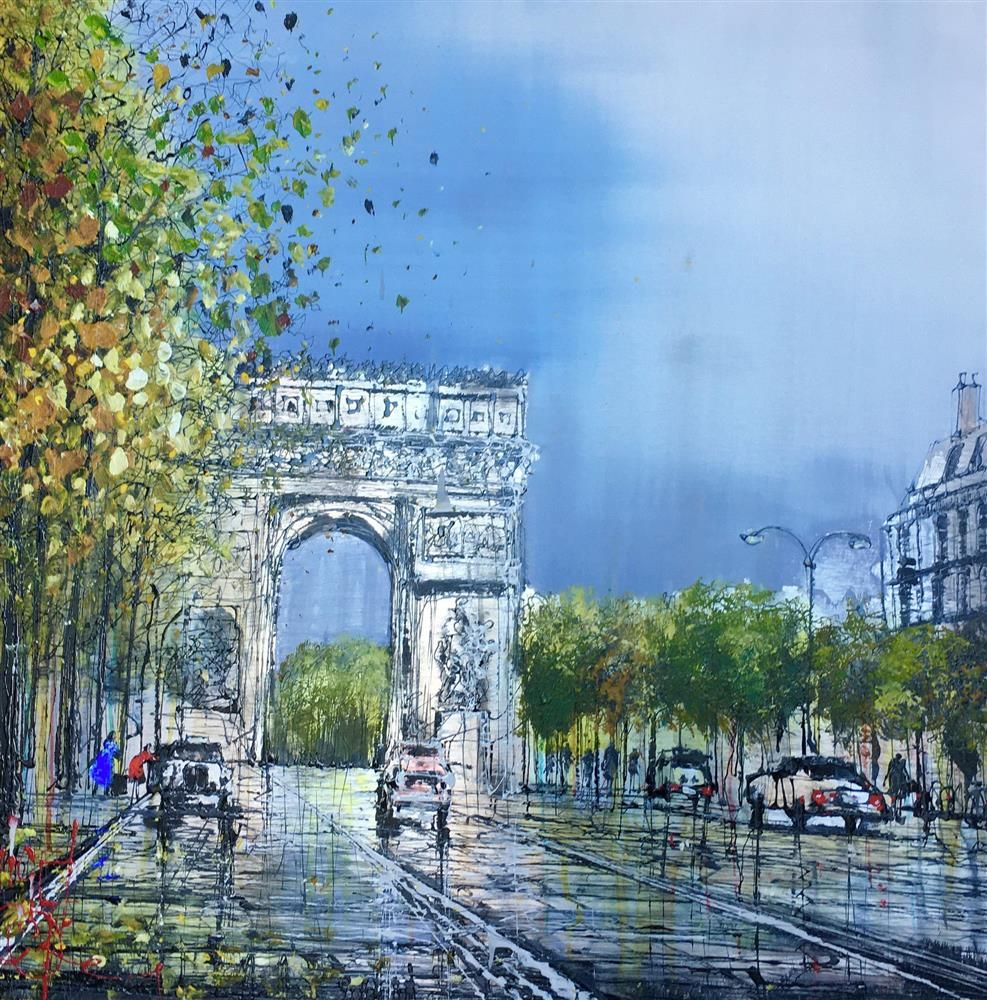 Nigel Cooke - 'French Dreams' - Original Artwork for sale