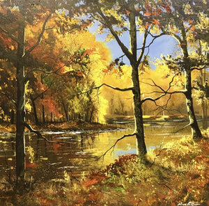 Nick Potter - 'Morning River Calm' - Original Art for sale