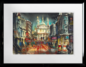 Carol Mountford - 'St Paul's London' - Limited Edition Art