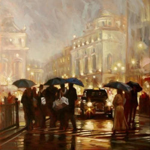 Mark Spain - 'Evening Lights' - Limited Edition Art