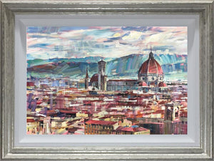 Colin Brown - 'Florence Skyline' - Original Art