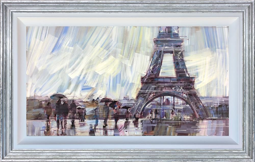 Colin Brown - 'A Day Out at the Eiffel' - Original Art