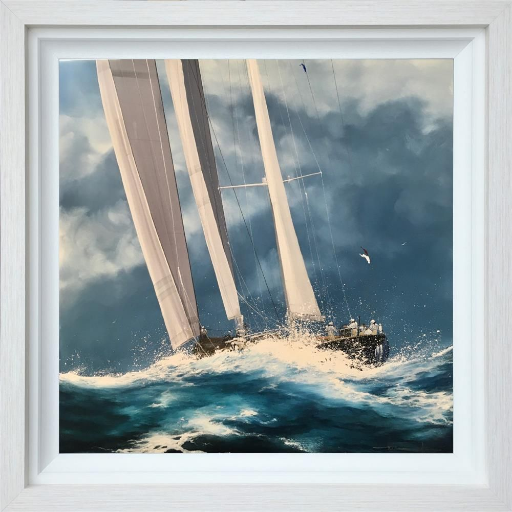 Dale Bowen - 'Over the Waves' - Original Art