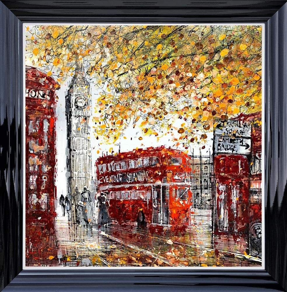 Nigel Cooke - 'London Rush Hour' - Original Art