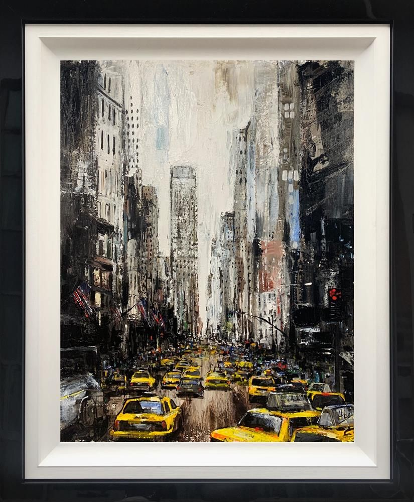 Abe - 'New York Rush Hour' - Original Artwork