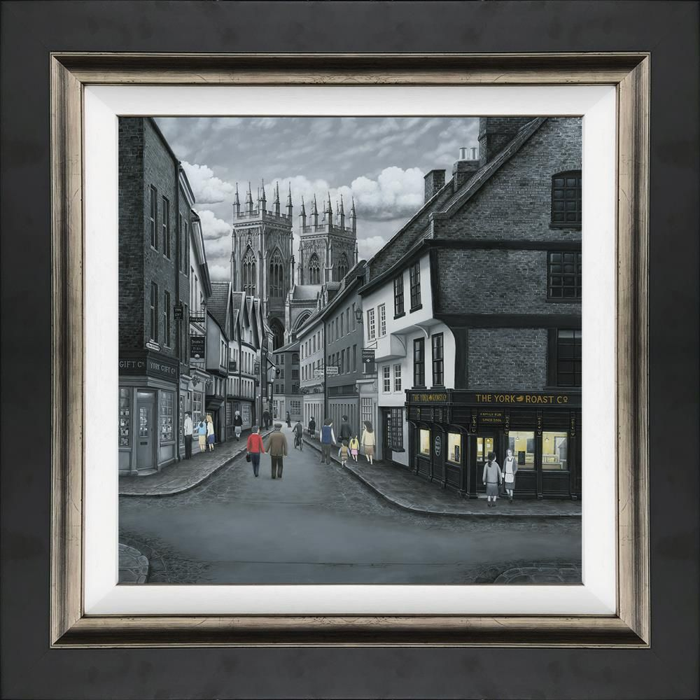 Leigh Lambert - 'Meandering to the Minster' - Canvas - Limited Edition Art