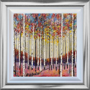 Nigel Cooke - ' Walking Through the Forest' - Original Art