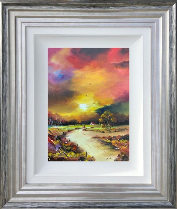 Lillias Blackie - 'Sunset Romance' - Original Art
