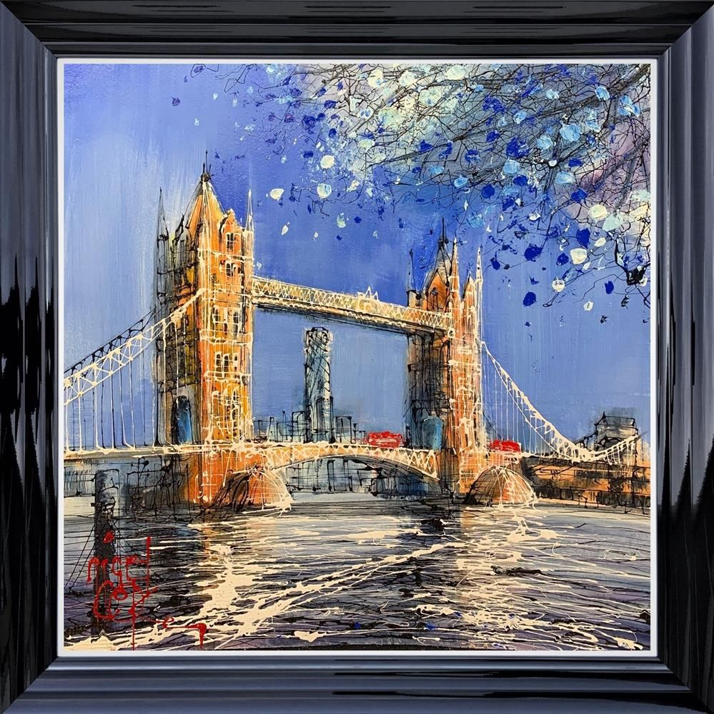 Nigel Cooke  - 'Bus Ride Over Tower Bridge' - Original Art