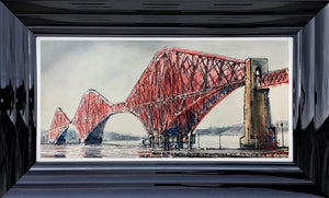 Nigel Cooke - 'Forth Bridge ' - Original Art