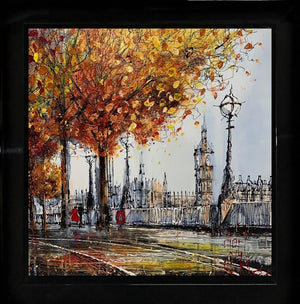 Nigel Cooke - 'Westminster Walk' - Original Art