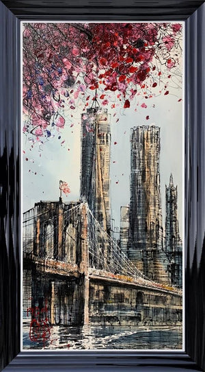 Nigel Cooke - 'Freedom Tower Standing Tall' - Original Art