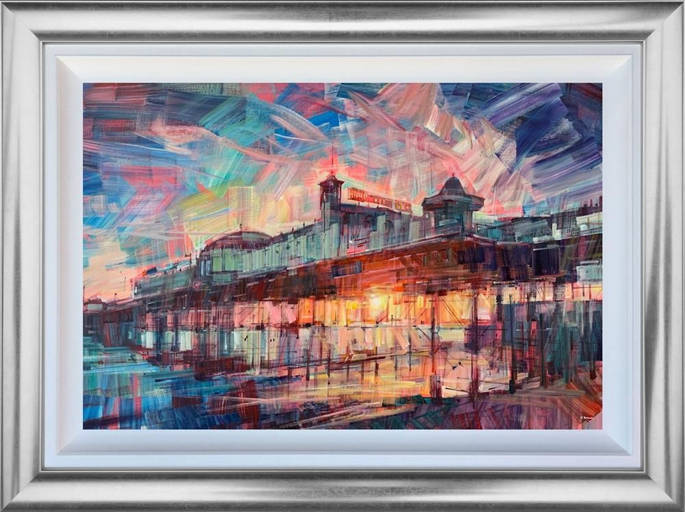 Colin Brown - 'Palace Glow' - Original Art