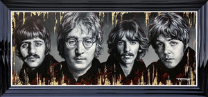 Ben Jeffery - 'The Fab Four' - Limited Edition Art (Canvas)