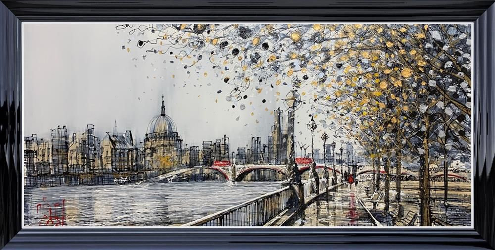Nigel Cooke - 'Southbank Views ' - Original Art