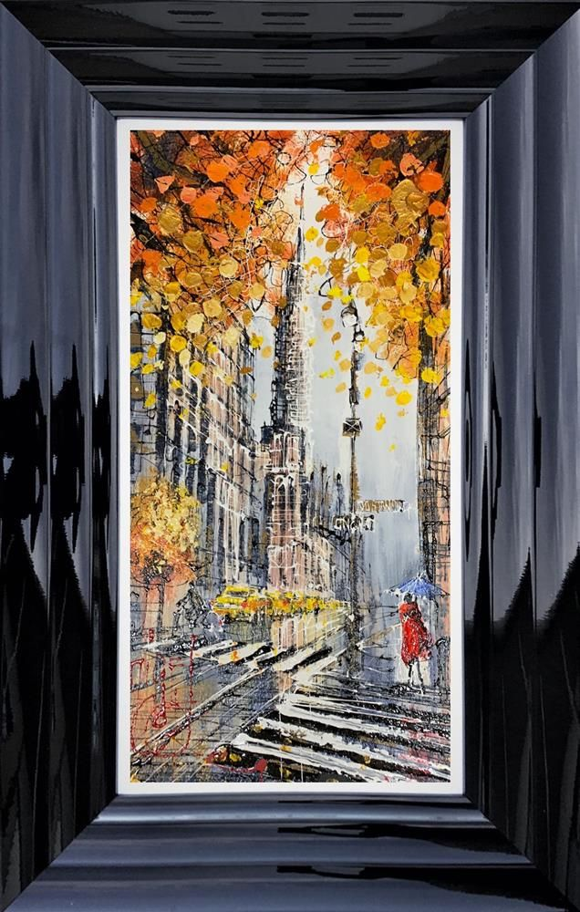 Nigel Cooke - 'Autumn Leaves NYC' - Original Art