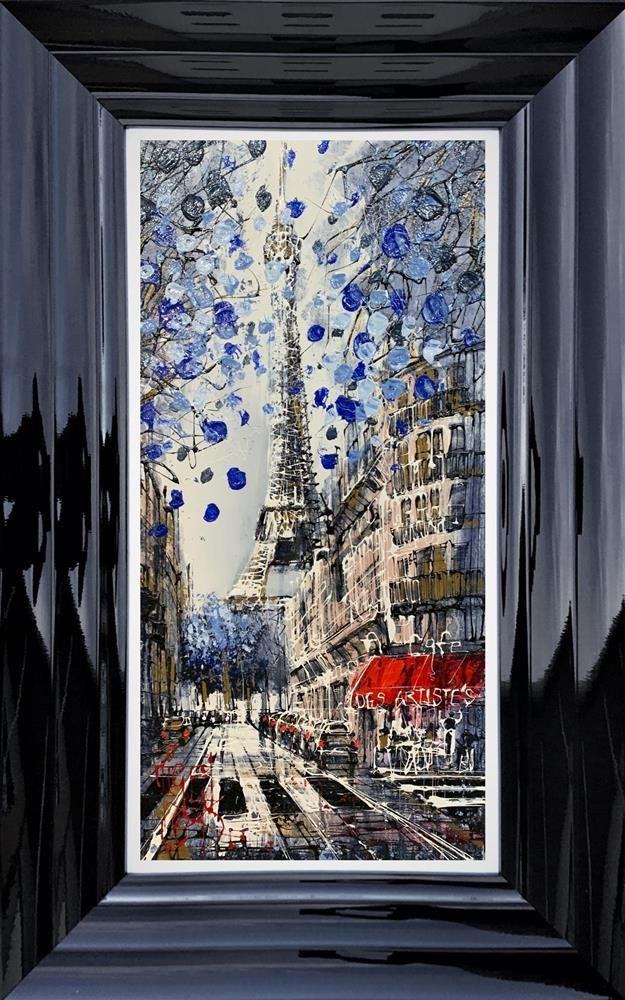 Nigel Cooke - 'Paris Blues' - Original Art