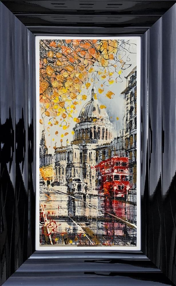 Nigel Cooke - 'Routemaster to St Pauls' - Original Art