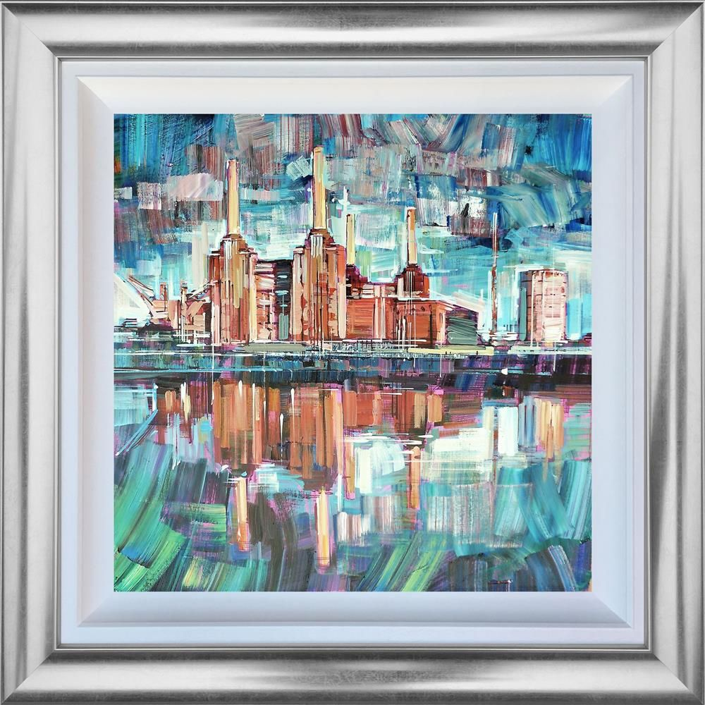 Colin Brown - 'Mirror Reflection' - Framed Original Art