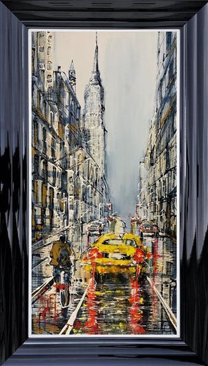 Nigel Cooke - 'Taxi Uptown' - Original Art