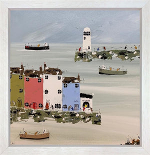 Lee McCarthy - 'Our White Lighthouse' - Original Art