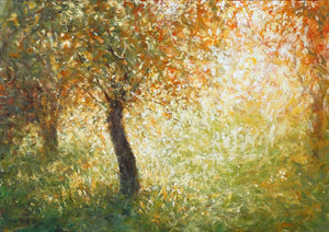 Mariusz Kaldowski - 'An Old Orchard In Fall' - Original Art