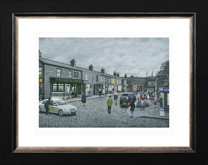 Leigh Lambert - 'On The Cobbles' - Paper - Limited Edition Art