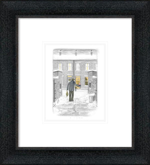 Leigh Lambert - 'Home For Christmas' (Sketch) - Limited Edition Art