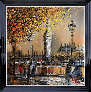 Nigel Cooke - 'London Sunrise' - Original Art