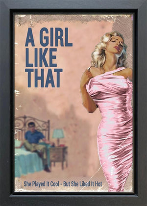 Linda Charles - 'A Girl Like That' - Original Artwork
