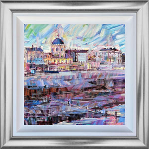 Colin Brown - ' Worthing Dome Twilight ' - Original Art