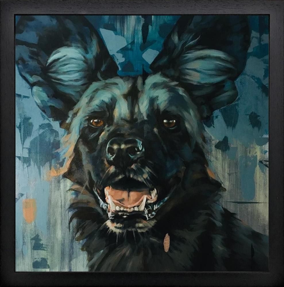 Frank Pretorius - 'Wild Thing' - Framed Original Art
