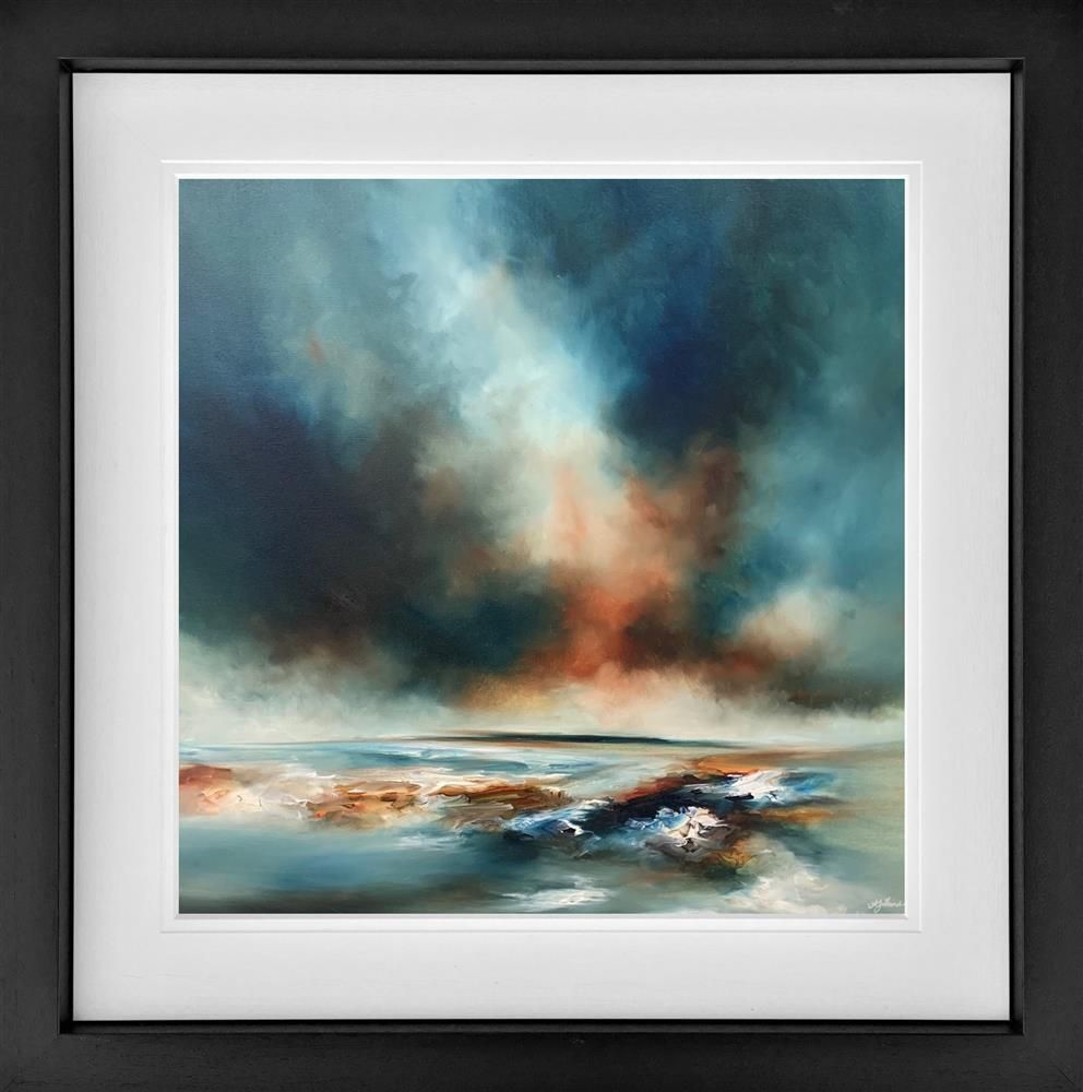 Alison Johnson - 'A Deep Breath' - Framed Limited Edition