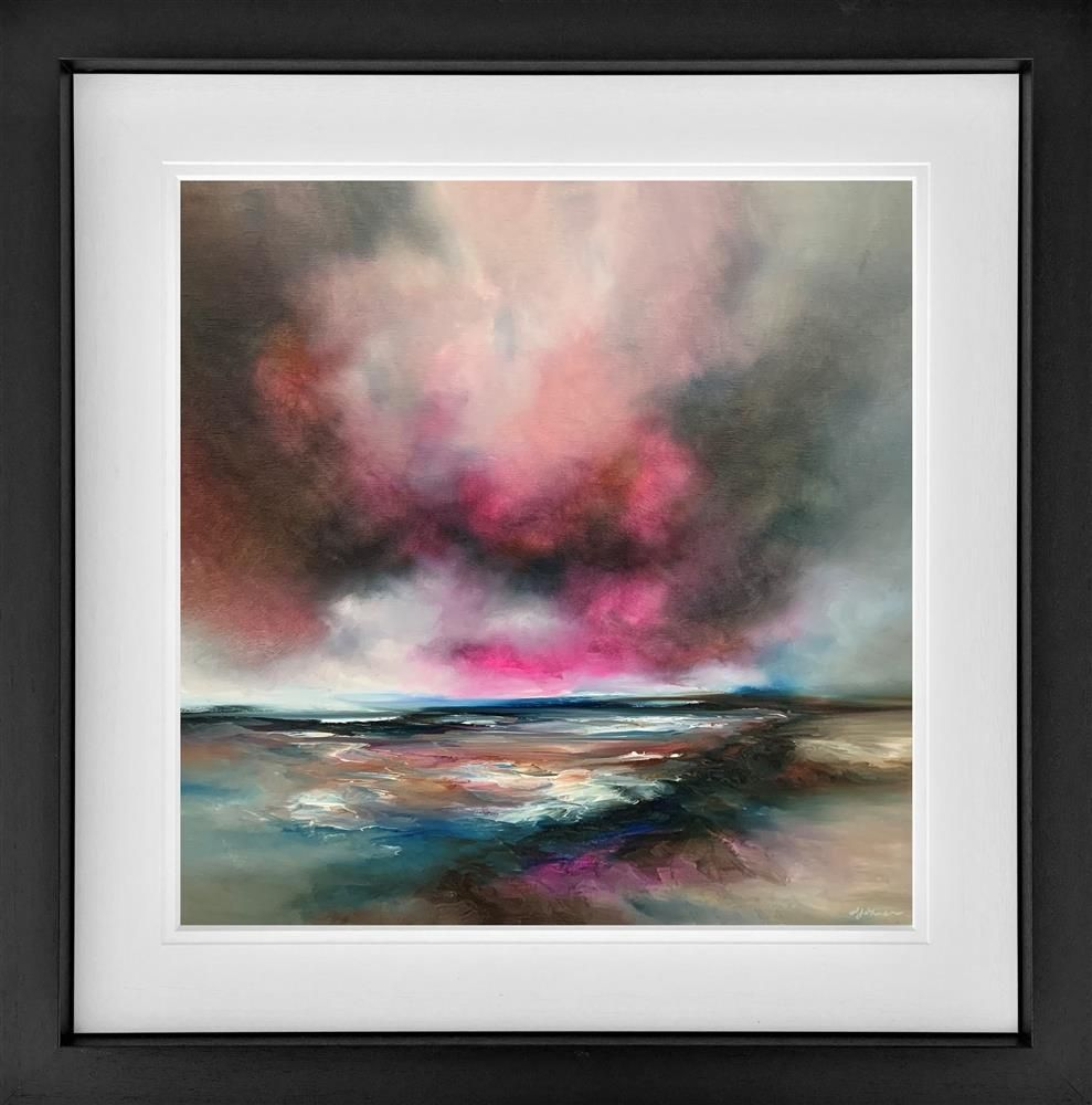 Alison Johnson - 'Nature Embers' - Framed Limited Edition