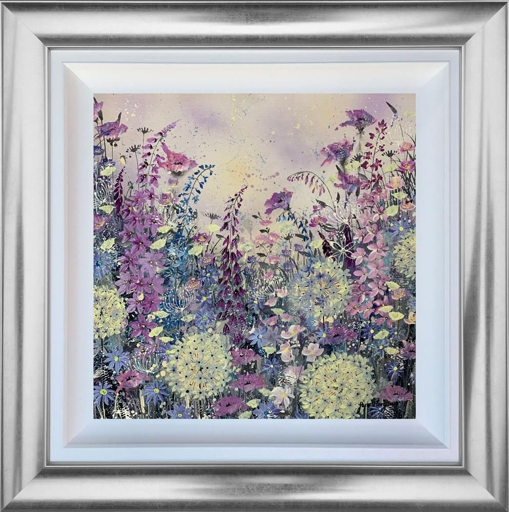 Jane Morgan - 'Our Love Blossoms' - Framed Original Art