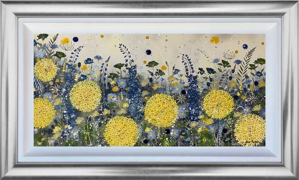 Jane Morgan - 'Spring Is Almost Here' - Framed Original Art