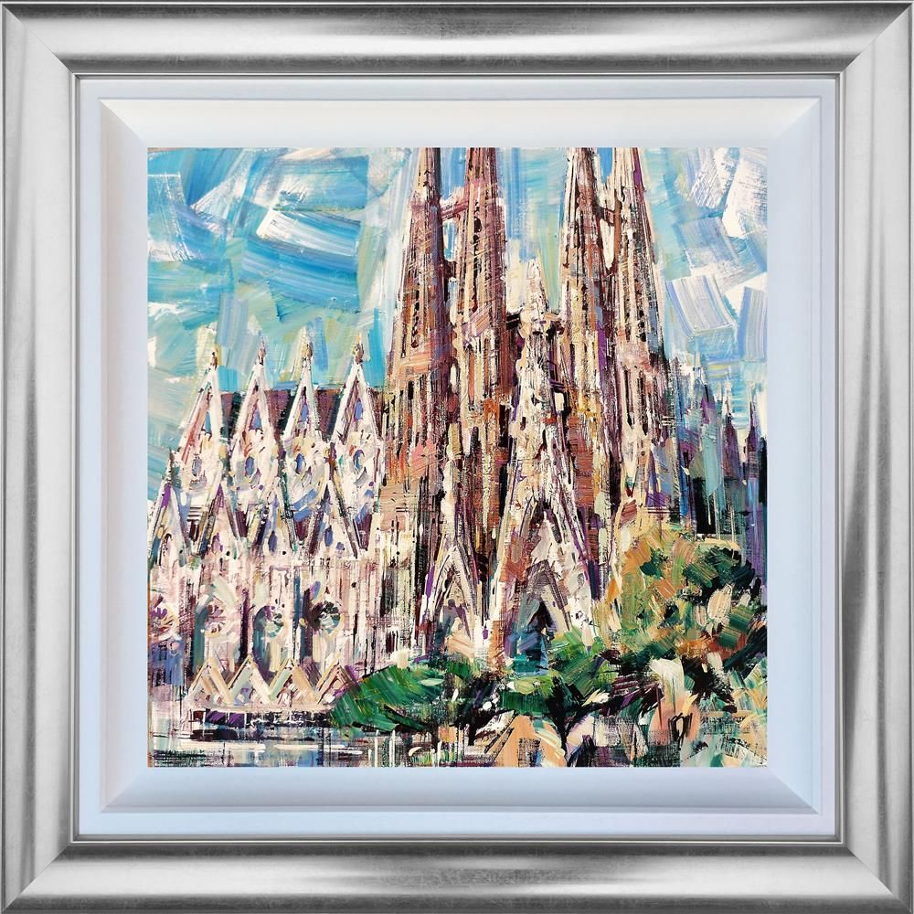 Colin Brown - ' Gaudi ' - Framed Original Art