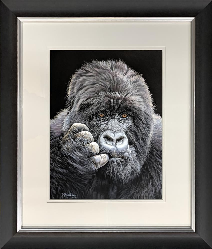 Samantha Greenhill - 'Pondering' - Framed Limited Edition