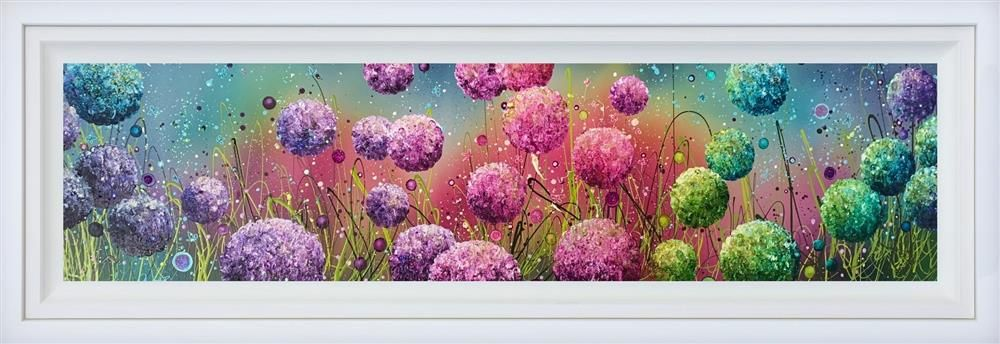 Leanne Christie - ' Bohemian Blossoms' - Original Artwork